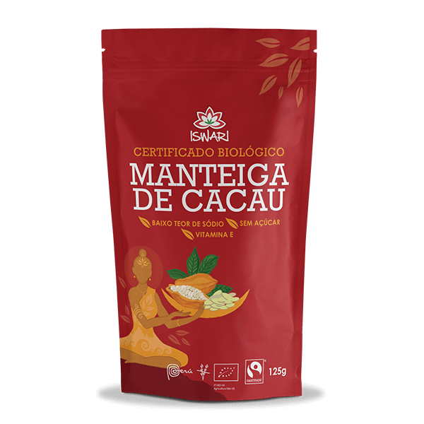 Manteiga de Cacau Bio FairTrade 125g
