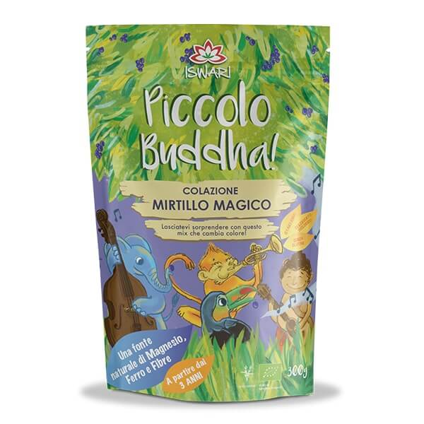 Pequeno Buda - Mirtilo Bio 300g IT
