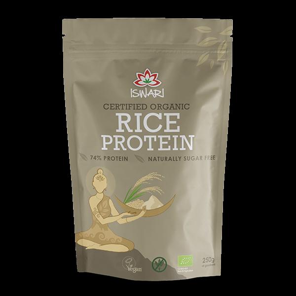 Proteina de Arroz Bio 250g +20% UK