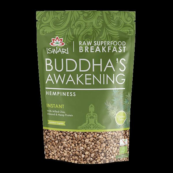 Depertar Buda - Proteína de Cânhamo Bio 360g UK