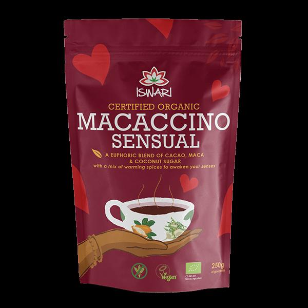 Macaccino Sensual Bio 250g UK