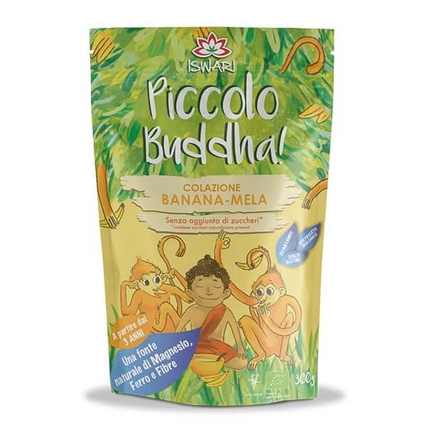 Pequeno Buda - Banana & Maçã Bio 300g IT