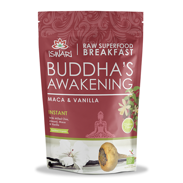 Despertar de Buda Maca & Baunilha Bio 360g +20% UK