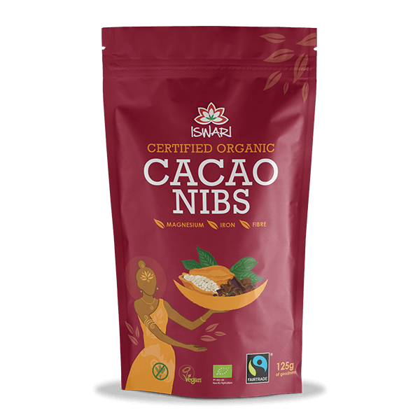 Cacau Pepitas Bio FairTrade 125g UK