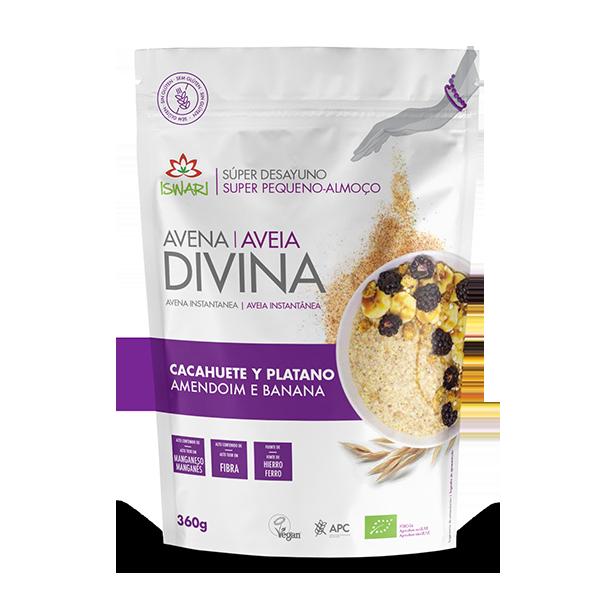 Aveia Divina Amendoim Banana Bio 360g PTES