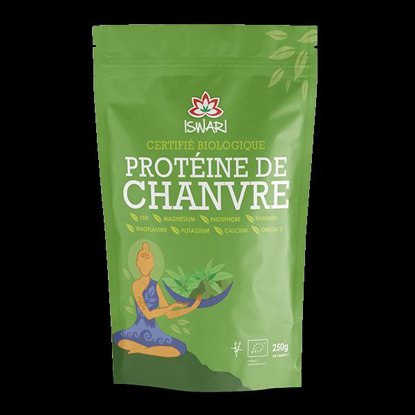Proteina de Cânhamo Bio 250g FR