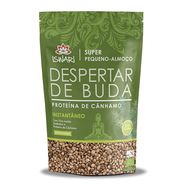 Despertar de Buda - Proteina de Cânhamo Bio 1Kg