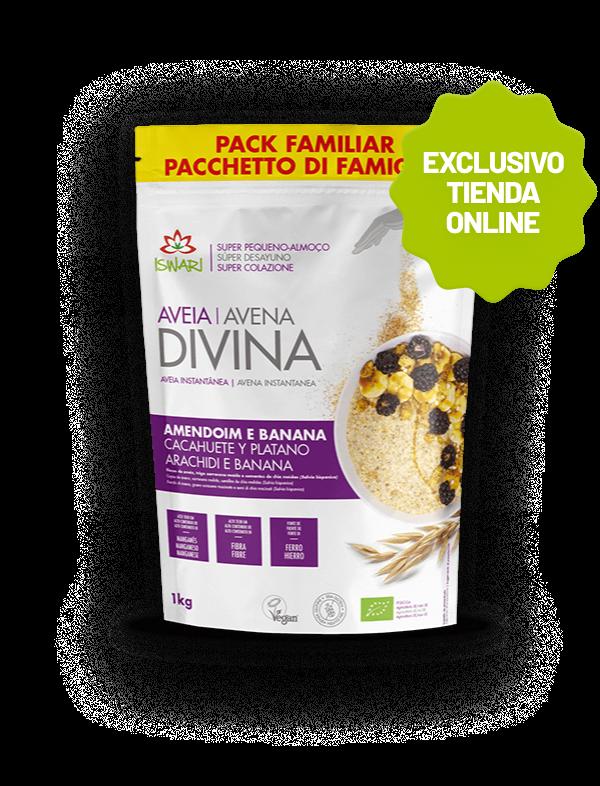 Avena Divina Cacahuete y Plátano 1
