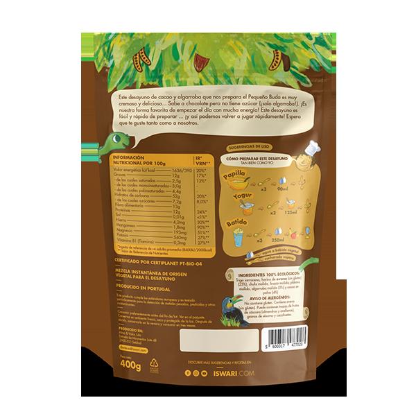 Pequeño Buda Desayuno Cacao y Algarroba 2