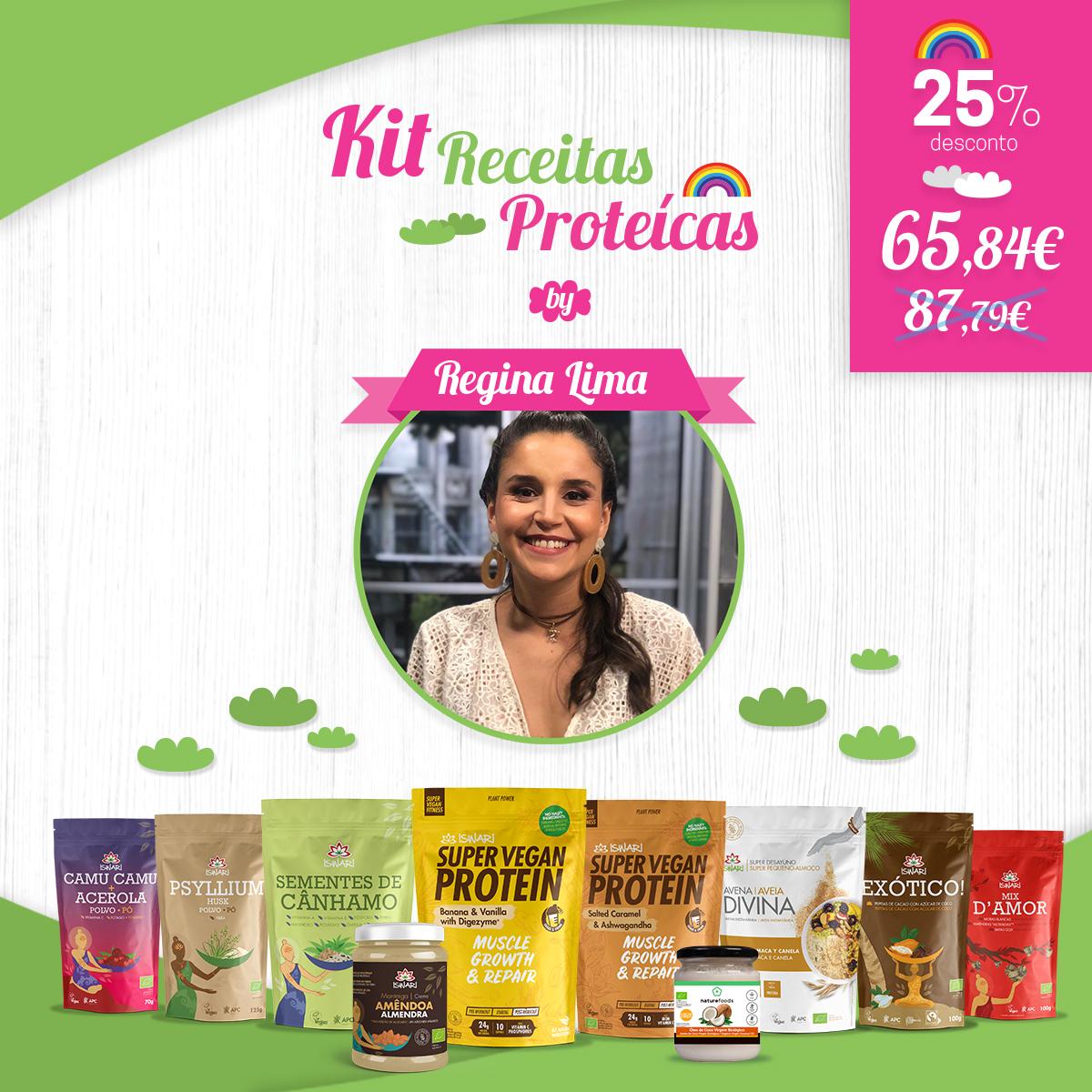 Kit Receitas proteicas by Regina lima 1