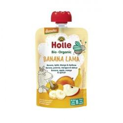 Banana Lama Puré Frutos Bio 6M - Holle (100g)