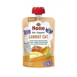Carrot Cat Puré Frutos Bio 6M - Holle (100g)
