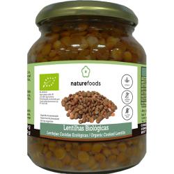 Lentilhas Cozidas Bio - Naturefoods (360g)