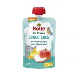 Croco Coco Puré Frutos Bio 8M - Holle (100g)