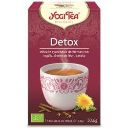 Infusão Bio Detox - Yogi Tea (17 saquetas)