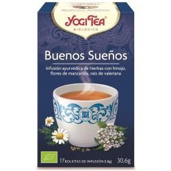Infusão Bio Boas Noites - Yogi Tea (17 saquetas)