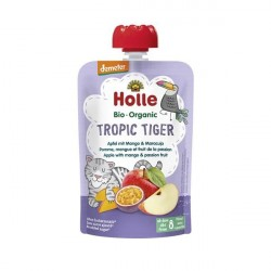 Tropic Tiger Puré Frutos Bio 8M - Holle (100g)