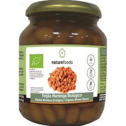 Feijão Manteiga Cozido Bio - Naturefoods (360g)