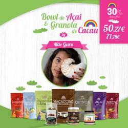 Kit Bowl Açai Granola de Cacau by Mãe Guru