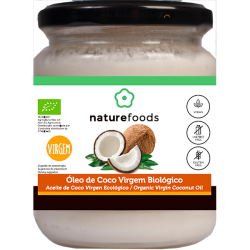 Óleo De Coco Virgem Bio - Naturefoods (200g)