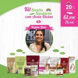 Kit Snacks Saudáveis Aveia Divina by Regina Lima