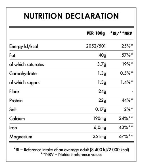 Tabela Nutricional - Omega 3 Mix Bio